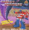 disque dessin anime transformers transformers storms of destruction